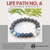 LIFE PATH NO. 6 Guidance Bracelet