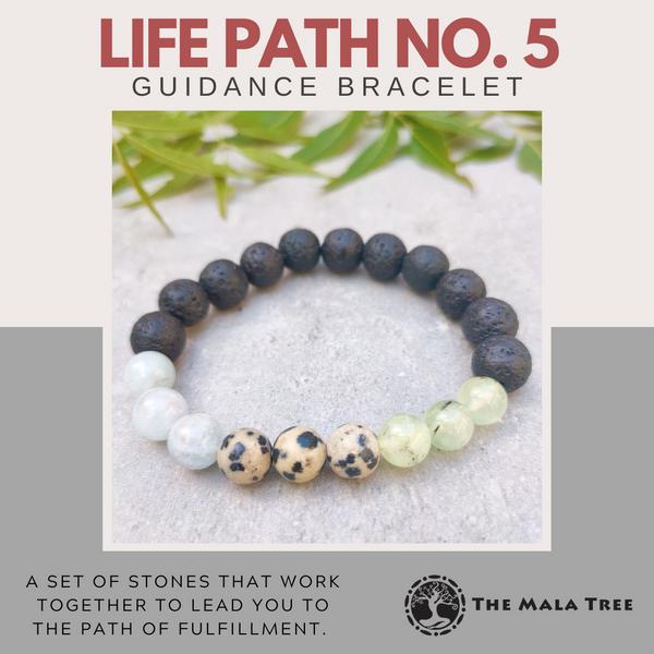 LIFE PATH NO. 5 Guidance Bracelet