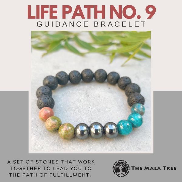 LIFE PATH NO. 9 Guidance Bracelet