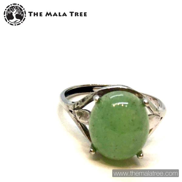 AVENTURINE Ring Set in SIlver
