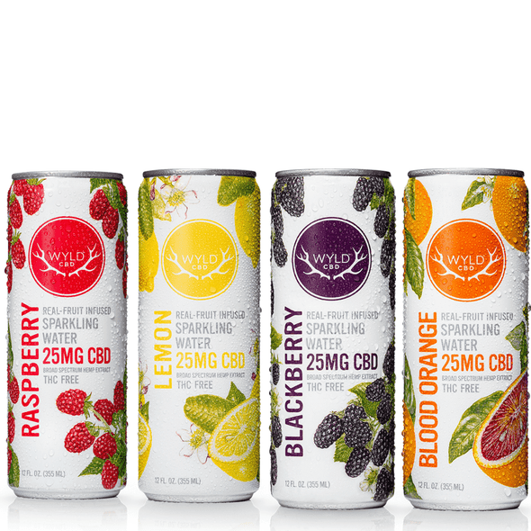 Wyld Sparkling Water 4-Pack