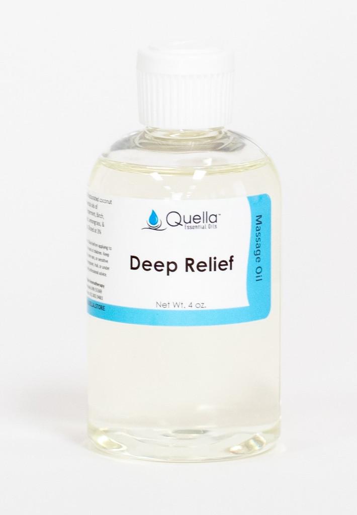 Deep Relief - Massage Oil - 4 oz.