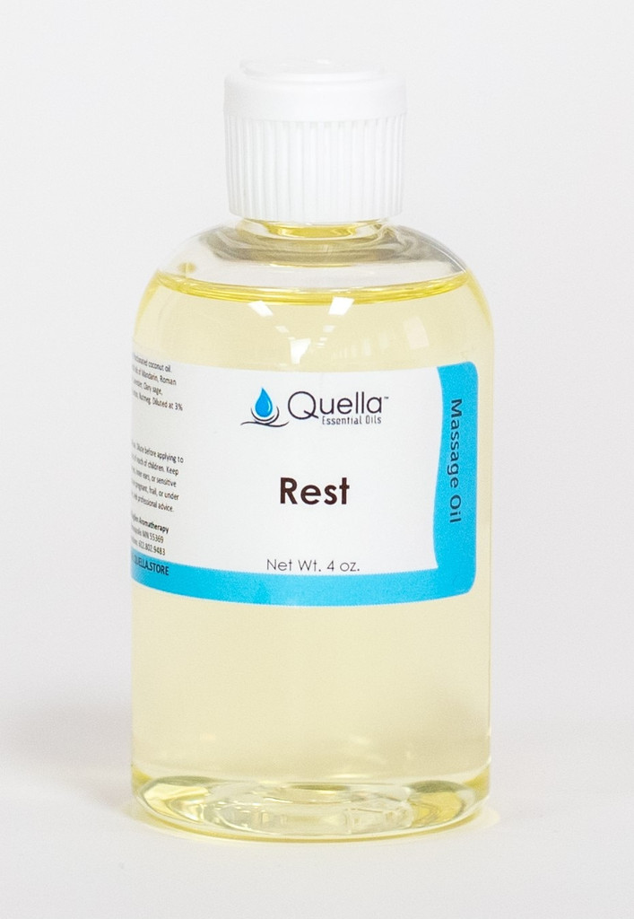Rest - Massage Oil - 4 oz.