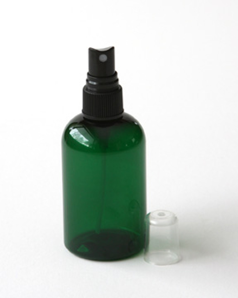 Green Plastic 4 oz. Spray Bottle