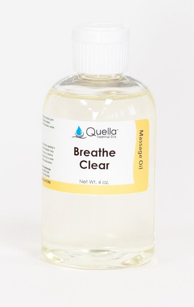 Breathe Clear - Massage Oil - 4 oz.