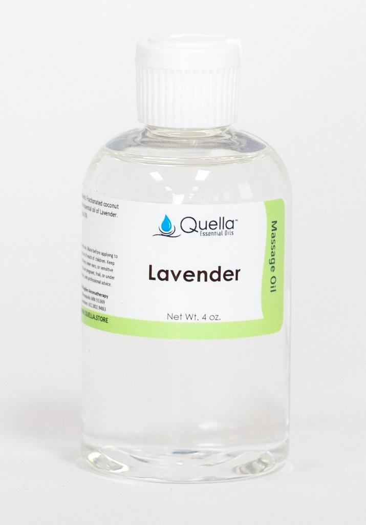 Lavender - Massage Oil - 4 oz.