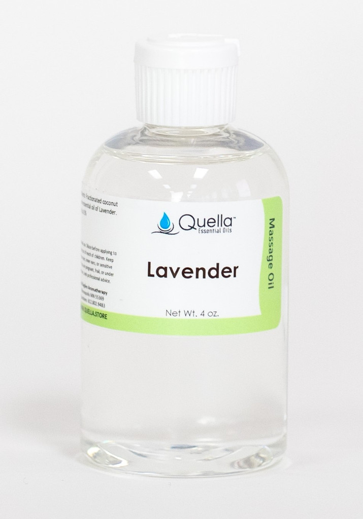 Lavender - Massage Oil - 4 oz.