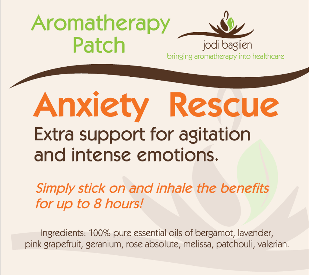 Aromatherapy Patch - Anxiety Rescue