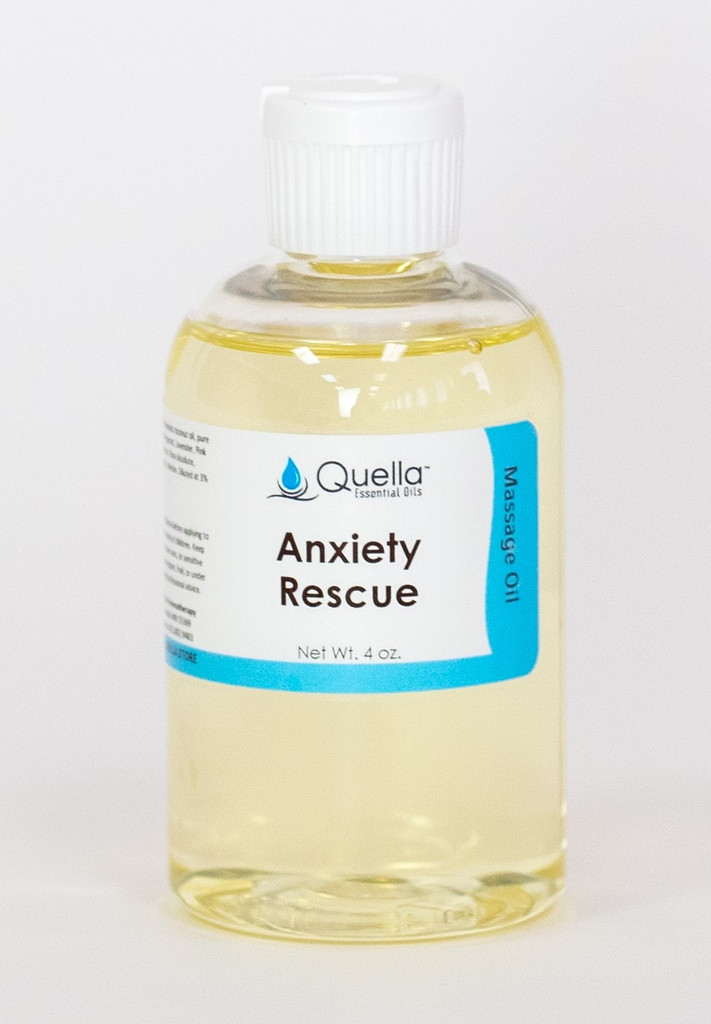 Anxiety Rescue - Massage Oil - 4 oz