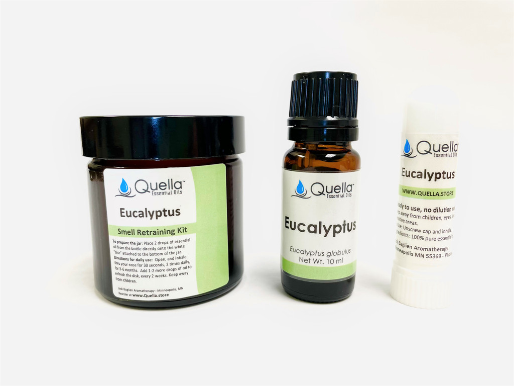 Eucalyptus Jar, Bottle, and Aromastick