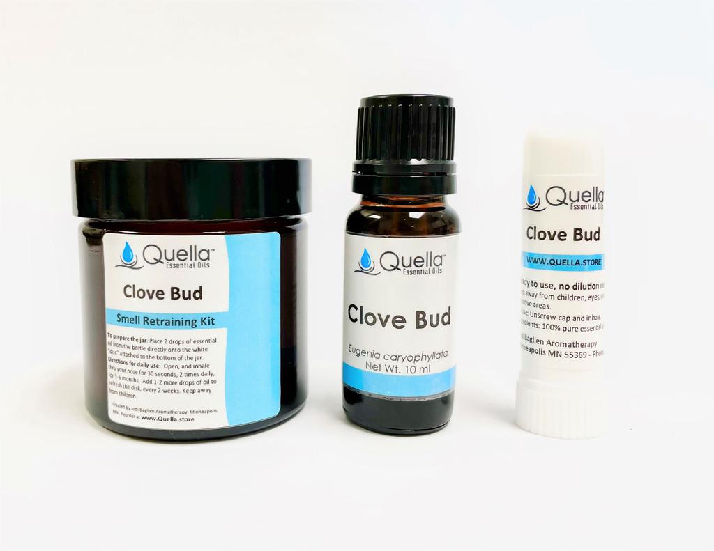 Clove Bud Jar, Bottle, and Aromastick