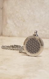Diffusing Necklace - Flower of Life