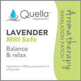 MRI Safe Lavender Patch 5 Pack