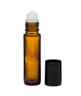 Amber glass roll on bottle (empty, 10ml size)