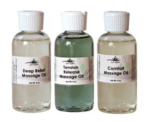 Mandarin Massage Oil - 4 oz.