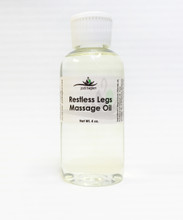 Restless Legs Massage Oil, 4oz bottle