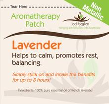 Lavender MRI Non-Metallic Aromatherapy Patch