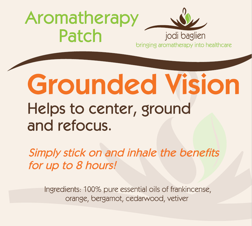 Grounded Vision Aromatherapy Patch