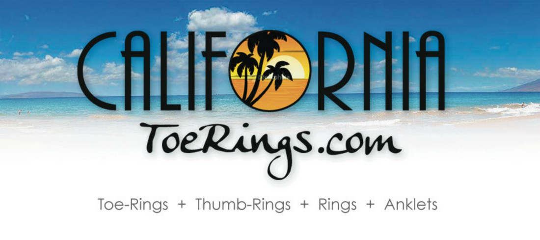 California Toe Rings