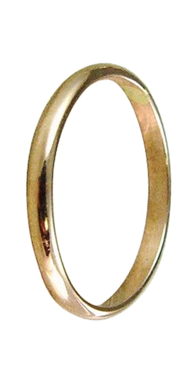 95ca49bedec11 14k gold plain wedding band thumb ring finger ring