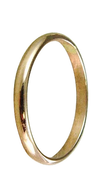 14k gold plain wedding band thumb ring finger ring