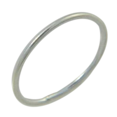 1mm Thin Sterling silver band toe ring