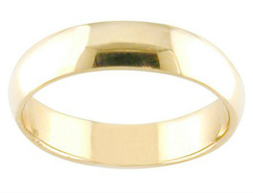 14k gold thick band thumb ring finger ring