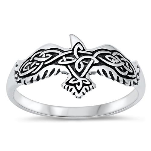 Celtic Heart Ring, Sterling Silver Celtic Ring