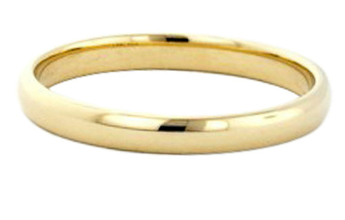 14k gold 3mm plain band toe ring, midi ring