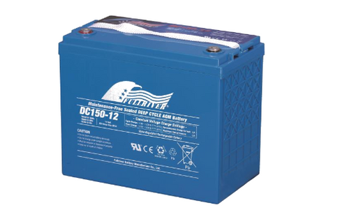 Full River Maintenance Free Sealed Deep Cycle AGM Battery DC140-12 12v 140ah