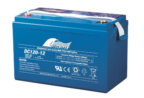 Full River Maintenance Free Sealed Deep Cycle AGM Battery DC120-12B 12v 120ah