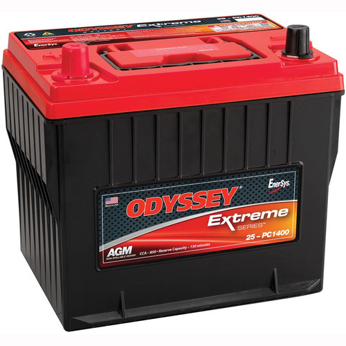 PC1400-25 Odyssey AGM Battery Nonspillable Sealed CCA50 Extended Life Cycle
