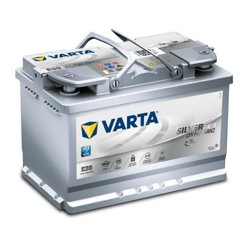 AGM Powersports Battery Varta E39 Long Shelf life BMW Leak Proof Rechargeable