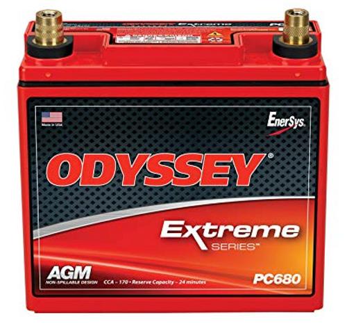Odyssey PC680MJT High Performance Dry Cell Battery AGM Motorbike PC680 Quad Car
