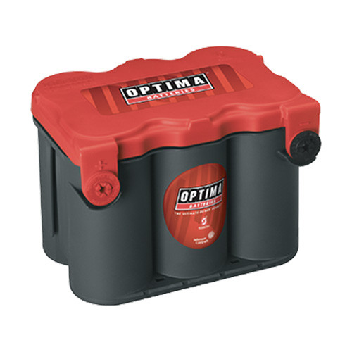 Optima Battery 78 Red Top 800CCA Side Terminal High Performance Spill Proof