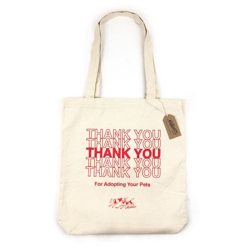 Thank You for Adopting Tote in Natural
