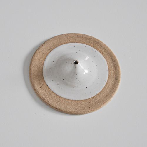 Speckled Stoneware Incense Burner