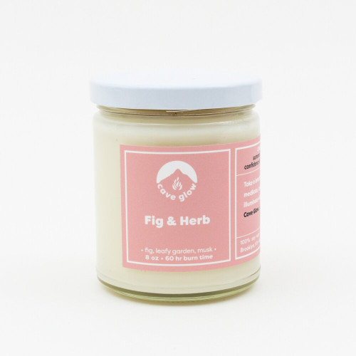 8 oz Fig + Herb Candle