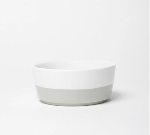 Dipper Cool Grey Ceramic Bowl