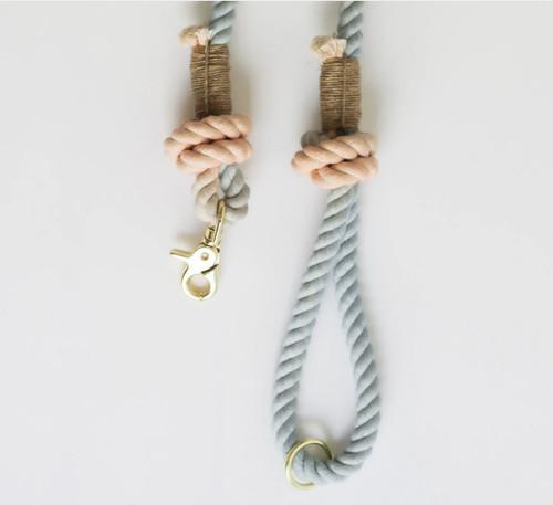 Sherbet Cotton Rope Leash
