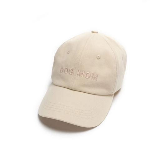 Ivory Dog Mom Hat