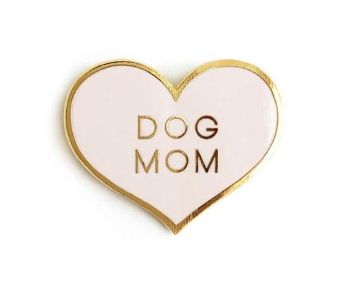 Dog Mom Enamel Pin