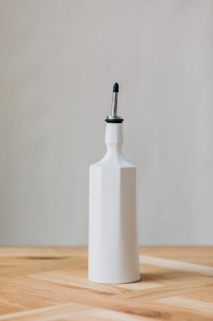 White Angular Bottle