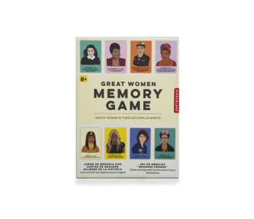 Great Women Memory Card Game