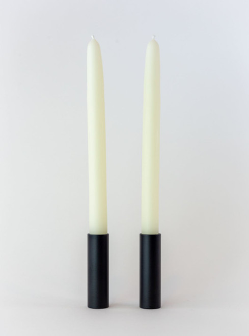 Natural White Beeswax Taper Handles