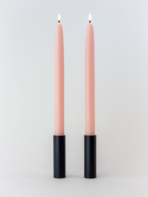 Pink Rose Beeswax Taper Handles