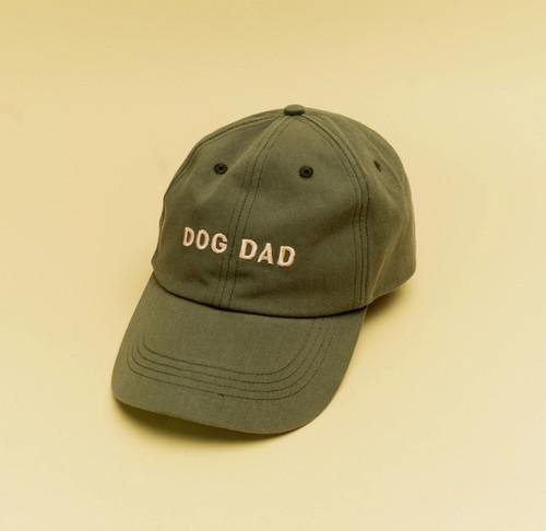 Olive Dog Dad Hat