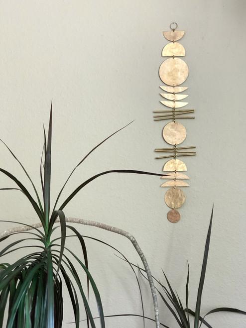 Earth Angel Brass Wall Hanging