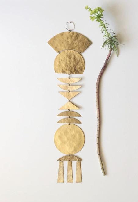 Imari Brass Wall Hanging