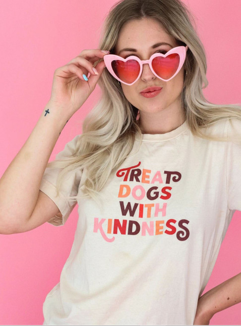 Treat Dogs with Kindness T-Shirt